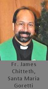 Fr. James Chitteth, Santa Maria Goretti, Edmonton