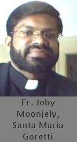 Fr. Joby Moonjely, Santa Maria Goretti, Edmonton