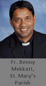 Fr. Benny Mekkatt, St.Mary's