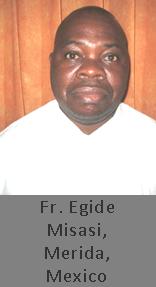 Fr. Egide Misasi, Mexico